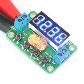 12V Constant Voltage 30W/2A DC/DC Electric Power Volt Converter 4.5-23V to 0-20V