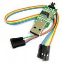 Mini PL2303 STC Downloader Module USB to TTL PL2303HX Chip Module Board With LED Indicator Dupont Wire