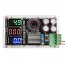 Power Supply Module DC 7~26V to 1.25~25V 8A 40W Constant Current/Voltage Adjustable Voltage Regulator/Charger/Laptop Adapter + 3in1 Digital Voltage/Current/Power Meter
