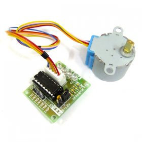 DC 5V Step Motor 4 Phase Gear Stepper Motor Mini 28BYJ-48 Gear Stepper Motor with ULN2003 Driver Board