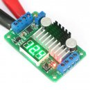 Power Adapter DC 3.5V-30V to 3.5V-30V 6A 100W Adjustable Boost Converter with Green LED Voltmeter