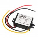 DC to DC Buck Step-Down Power Converter DC 15V-55V to 12V 1.5A 18W Voltage Regulator Car Power Supply