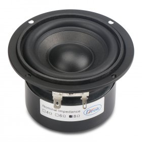 Round Speaker 89mm Audio Speaker 3 inches 8 ohms 25W Woofer Speaker Hi-Fi stereo Loudspeaker DIY Mini Stereo Box Accessories