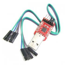 CP2102 Module USB to TTL Serial Converter CP2102 STC Program for DVD HDD Router GPS Upgrade