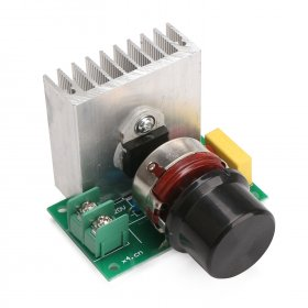 3800W SCR Electronic Dimming Dimmers Speed Control AC 220V Electronic Voltage Regulator