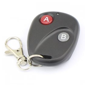 315 MHz 2-Channel Car Wireless Remote Controller Transmitter Keyless Entry 12V DC Two Buttons 100 Meters
