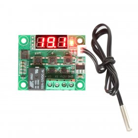 -50-110°c DC 12V Digital Thermostat Cooling/Heating Temperature Controller with Sensor Probe