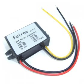 24W Power Adapter DC 15~55V to 12V 2A Power Supply Module/Power Converter/Voltage Regulator/Car Adapter/Driver Module