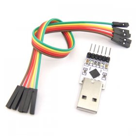 Mini CP2102 USB to TTL Module with Dupont Wire for STC Download TXD RXD GND 3.3 V 5V