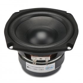 40W Woofer Speaker Double magnetic Speaker 4.5-inch 4 ohms Hi-Fi Shocking Bass Speaker Audio Loudspeaker for DIY speakers