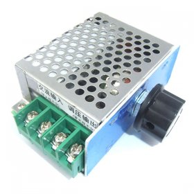 500W SCR AC 220V To 0-25V Voltage Regulator Thermostat Motor Speed Controller Dimming Dimmer