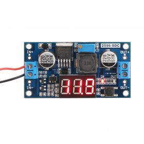 DC Buck Step down Converter LM2596 Voltage Regulator LED Voltmeter 36V to 24V 12V 5V 3.3V