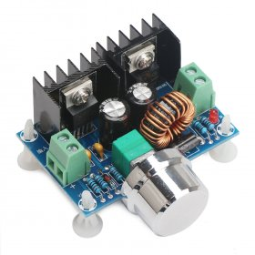 DC Motor Speed Regulator DC 4~40V to 1.25~36V 8A 200W High Power Voltage Regulator/PWM Motor Controller/Driver Module