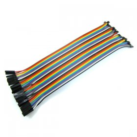 High-quality cable 2 Pin to 1 PIN 2.00mm to 2.54mm Dupont Wires Cable Connection Lines 20cm