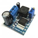 15W Power Supply Module DC 3.7V~34V to 3.7V~34V 3A Boost Converter/Adjustable Voltage Regulator DC 12V 24V Adapter/Driver Module