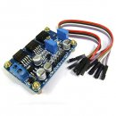 DC-DC 6.5-22V to 3.3V 5V 2CH Adjustable Converter Satellite Finder Power Supply