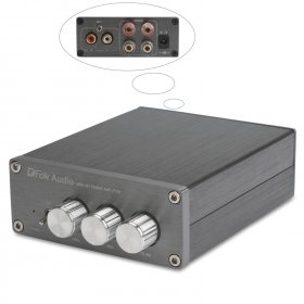 HiFi Class 2.0 Stereo Digital Power Amplifier TPA3116 Advanced 50W+50W Dual Ch Audio Amplifier for Home/Car etc