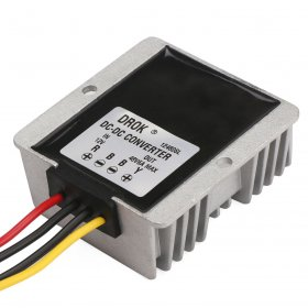 288W Car Converter DC 12V (9~30V) to 48V 6A Boost Voltage Regulator/Power Supply Module/Power Adapter/Driver Module Waterproof