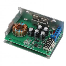 300W Power Supply Module DC 3.5~30V to 0.8~29V 10A Buck Converter/Adjustable Voltage Regulator/Adapter/Driver Module + Voltmeter