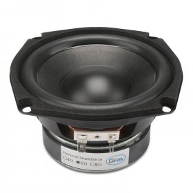 Subwoofer Shocking Bass unit 4.5-inch 4 ohms Hi-Fi Audio Speaker 40W Stereo Loudspeaker Woofer Speaker for DIY speakers