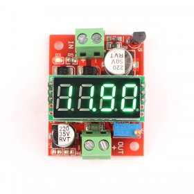 LM2596 3.2-40V to 1.23-37V DC Buck Converter Green LED Voltmeter Voltage Monitor