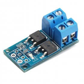 DC 5V ~ 36V PWM control switch board DC 12V 24V 15A 400W High-power MOS tube trigger switch/Drive module electronically controlled switch